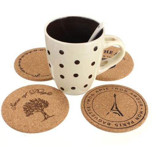 Brand promotion with drink coasters